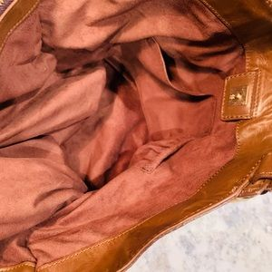 """Givenchy Bags - GIVENCHY Brown Leather Hobo Bag Purse - 10""""x12""""."""